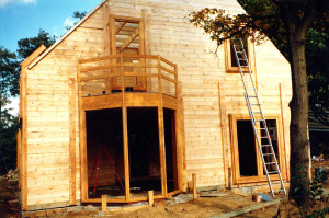 architecture-feng-shui / Luc Antoine / éco-construction bois Belgique