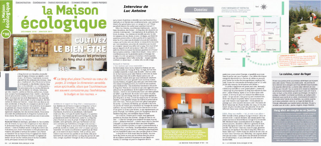 Architecture-Feng-Shui / Luc Antoine