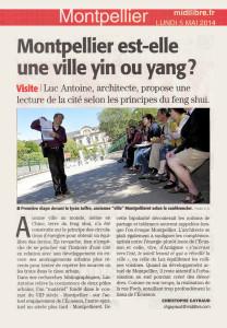 architecture-feng-shui / Luc Antoine / Midi Libre mai 2014