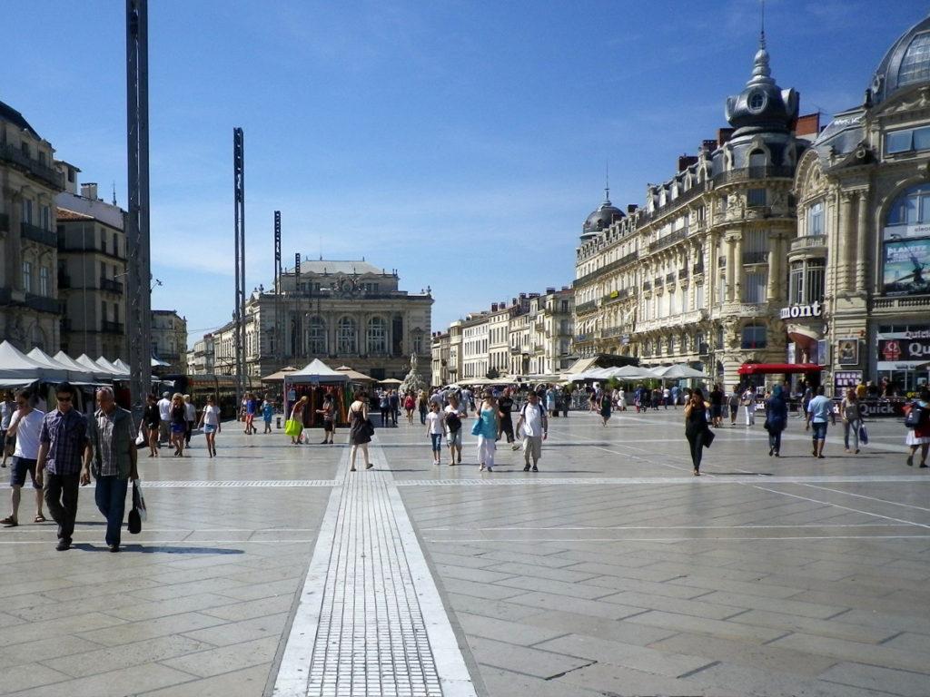 Architecture-Feng-Shui / Luc Antoine - Place de la Comédie Montpellier