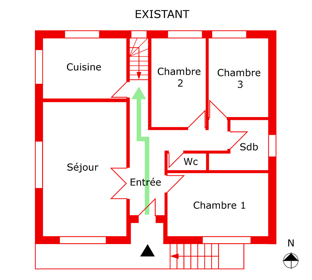 Wc Sous Escalier Feng Shui réalisations | architecture feng shui